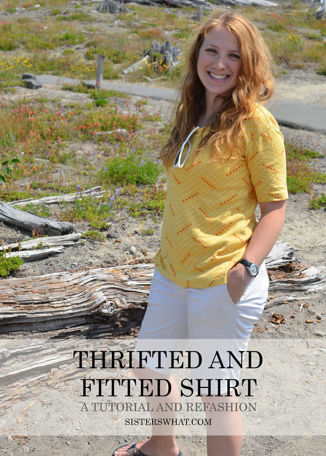 thrift for larger size shirts and refit it to fit you