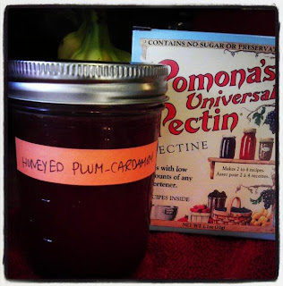 Honeyed Plum-Cardamom Jelly