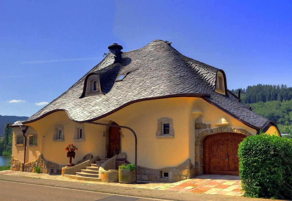 Pix grove fantasy house in germany for Imagini case moderne
