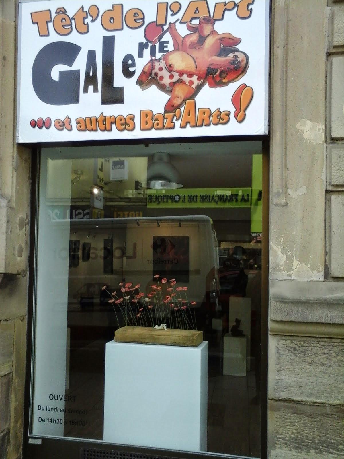 En expo actuellement du 7 au 28 mars galerie Têt'de l'art à Forbach en Moselle