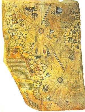Kontroversi Misteri Peta Piri Reis