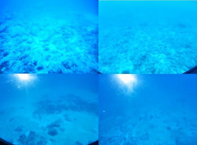 Mauritius - Ocean bed
