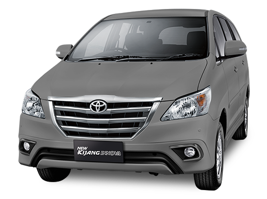 Toyota Grand New Kijang Innova Grey Mica Metallic