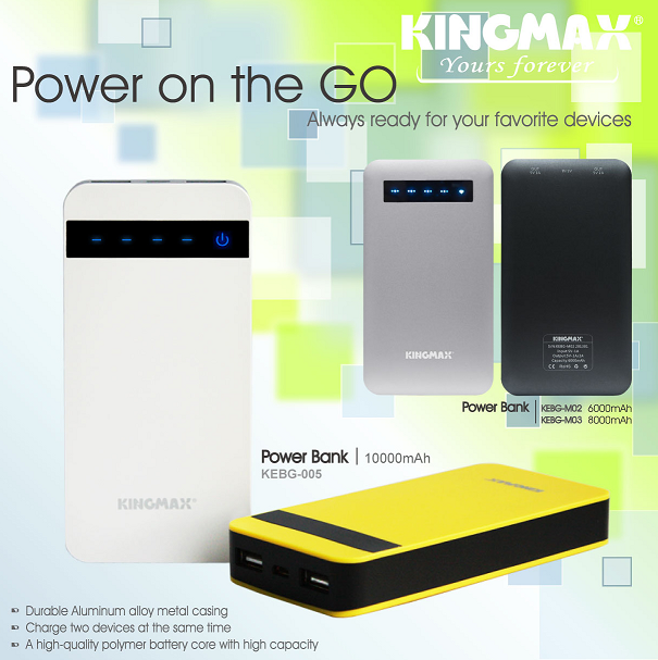KINGMAX power bank