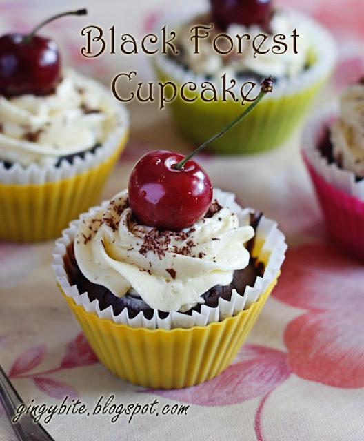 Black Forest Cupcake 黑森林杯子蛋糕