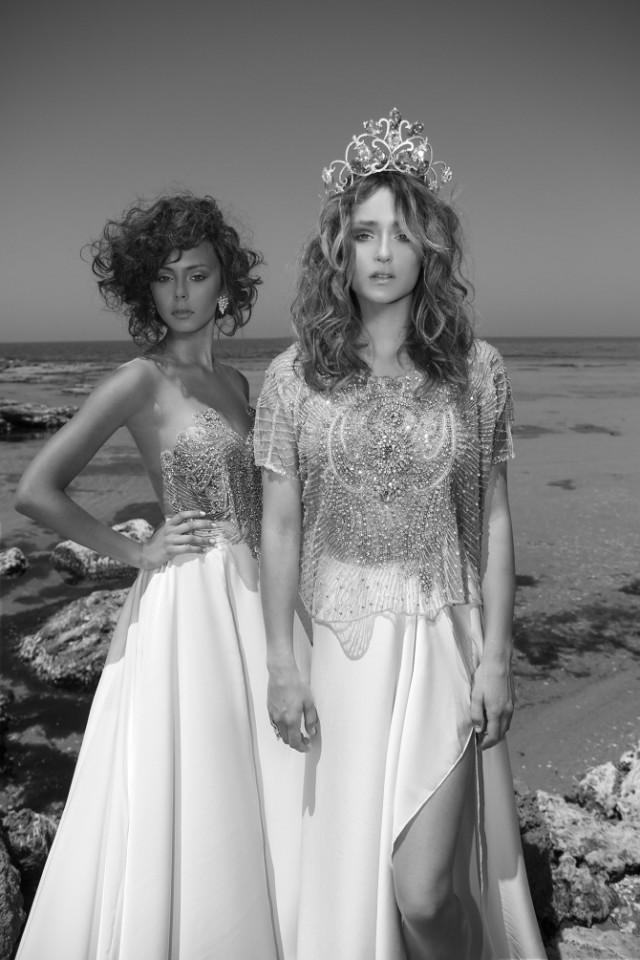 Atractivos vestidos de novias | Colección Lior Charchy