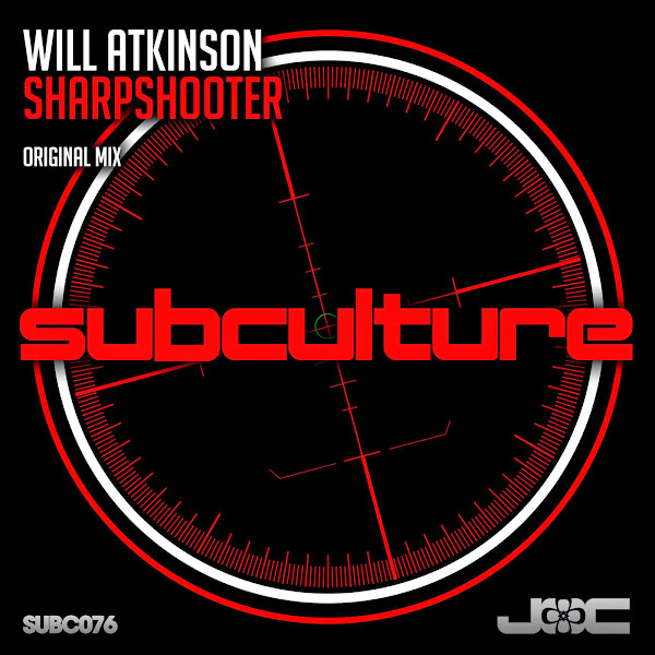 Will Atkinson - Sharpshooter - Single Cover