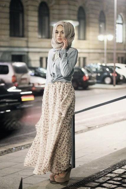 8 Perpaduan Warna Rok Dengan Jilbab Agar Terkesan Elegan