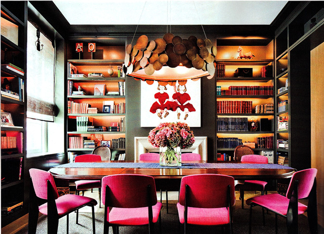 Fantastic Room And Those Pink Chairs Are Amazing