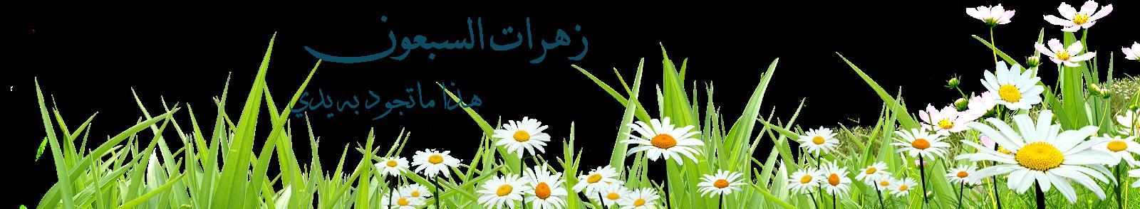 زهرات السبعون