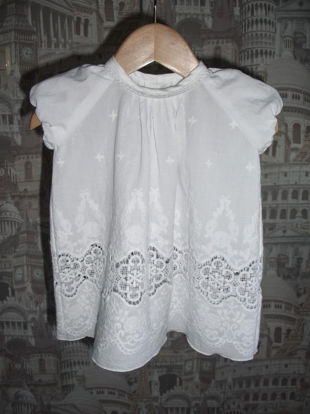 Сшить крестильное платье для новорожденных