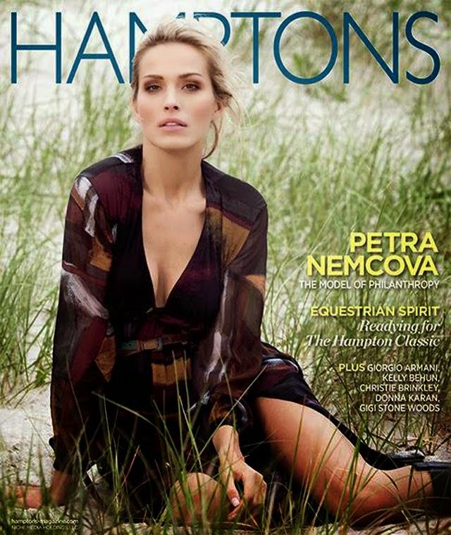 Petra Nemcova - Fashion for Hamptons Magazine, Fall 2014