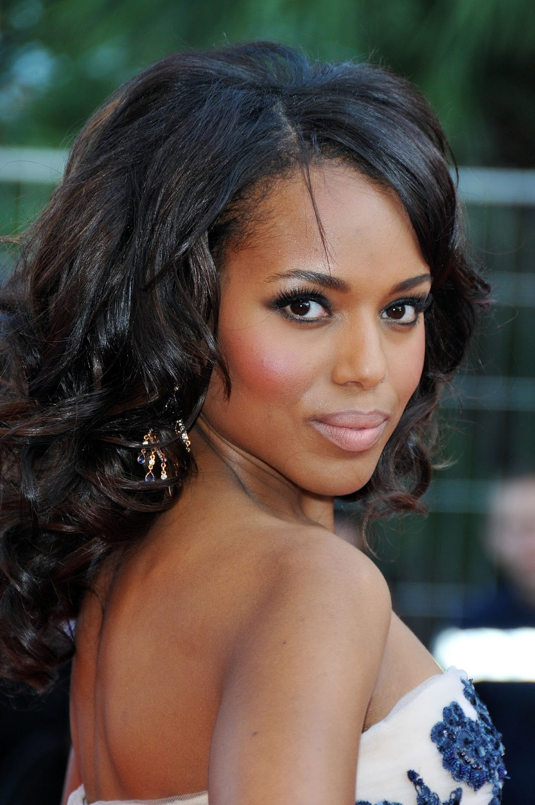 Kerry Washington Is One Hot Mama in a Sheer Mini at the