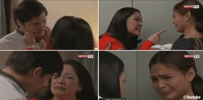 Ang Dalawang Mrs. Real: Maricel Soriano Slapping on the Face of Anthony and Shiela will Become Viral