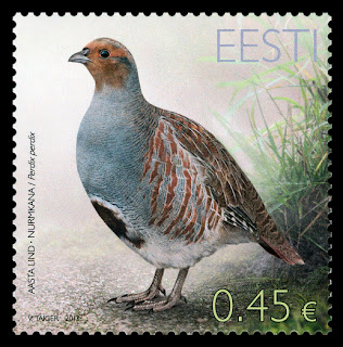Estonia: BIRD OF THE YEAR - PARTRIDGE