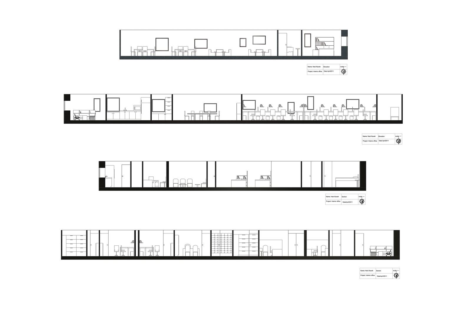 Office Interior And Furnishing Ocad University Hani Kaveh Design