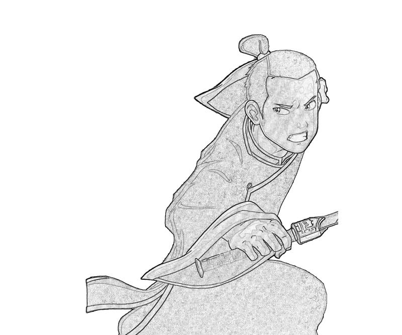 another avatar coloring pages