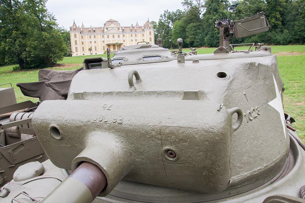 torretta Sherman M4 ternavasso