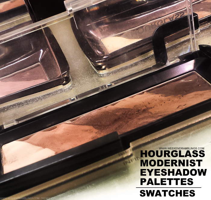 Hourglass Modernist Eyeshadow Palettes - Makeup Swatches
