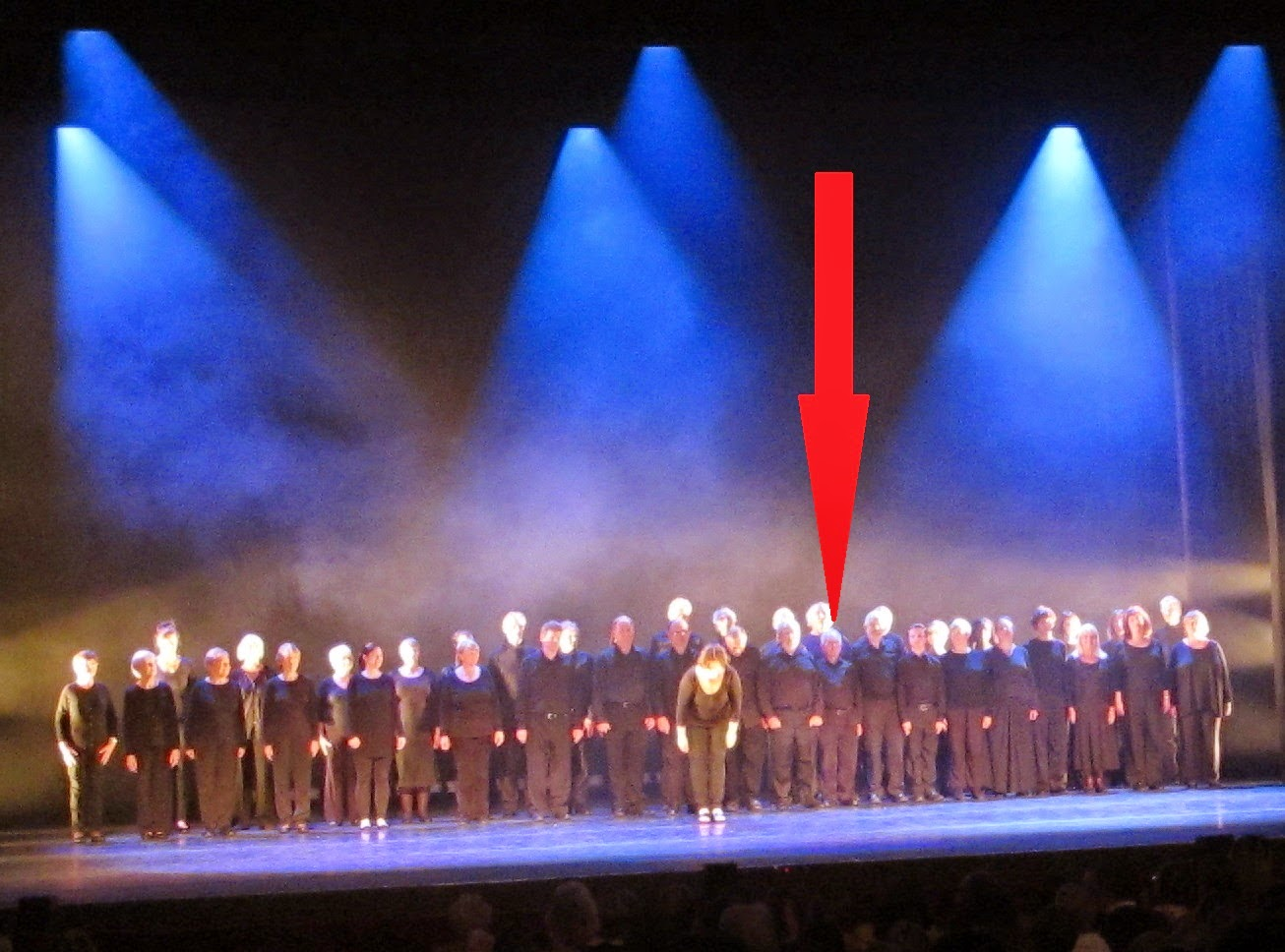 southampton choral society on stage at the mayflower