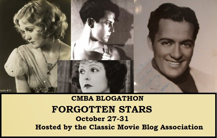Forgotten Stars CMBA Blogathon - Oct.27-31, 2014