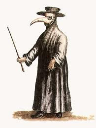 2019 year looks- Black did the what plague doctors wear