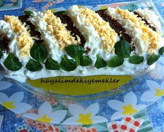 mayonezli yogurtlu tavuk gogsu salatasi