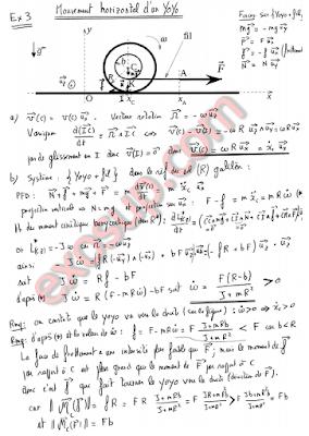 Examen corrigé de mécanique du solide UCP