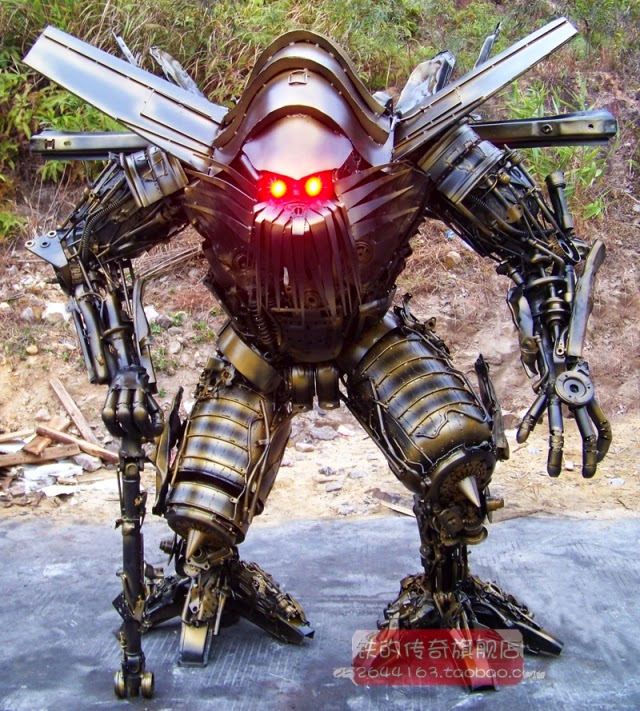 Killer Robots Army an Army of Chinese Robot