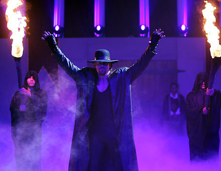 Undertaker returns