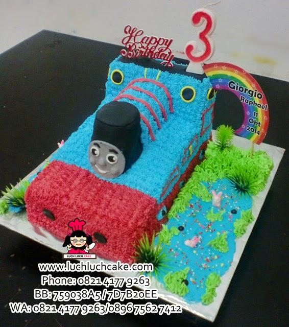 Kue Tart Thomas 3d Cake Daerah Surabaya - Sidoarjo