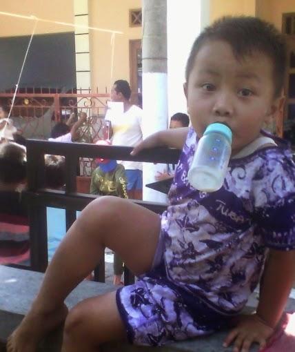 Nangkring mimik cucu