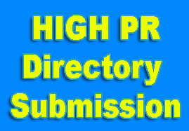High PR Directory Submission Site List