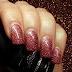 Smalti semipermanenti: AmericaNails She Colors in Rose Copper Glitter