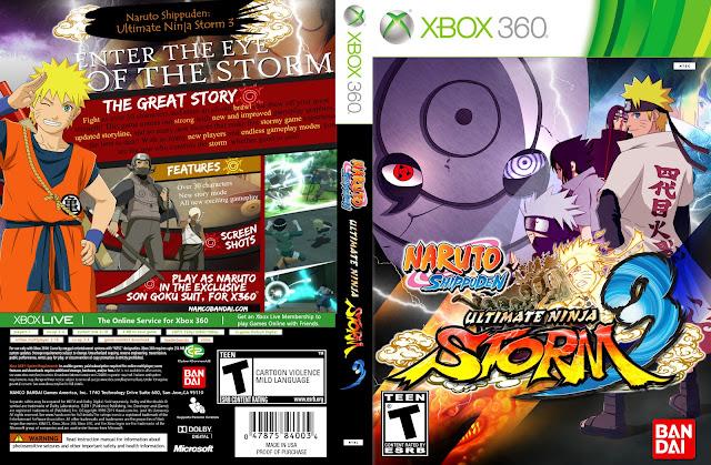 Игра для xbox 360 naruto shippuden: ultimate ninja storm generations