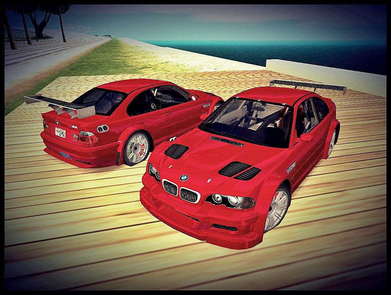GTA SA - BMW M3 GTR Convertido Do NFS MW