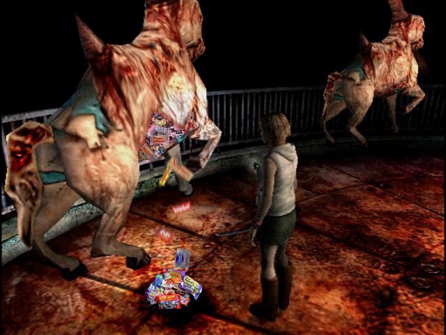Silent Hill 3 320x240 JAVA Game - Phoneky