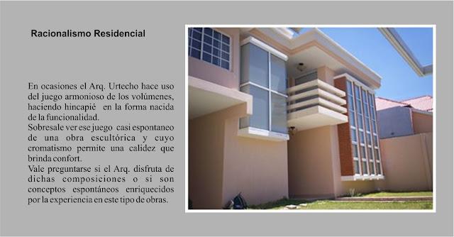 Arquitectura racionalista contemporanea en honduras for Arquitectura racionalista