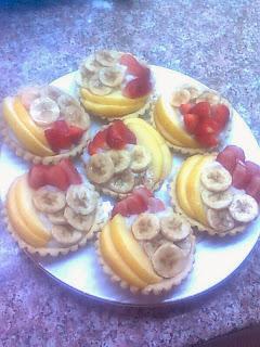 مجموعة وصفات قسم الحلويات والعصائر # متجـــدد # Tartelette+aux+fruits