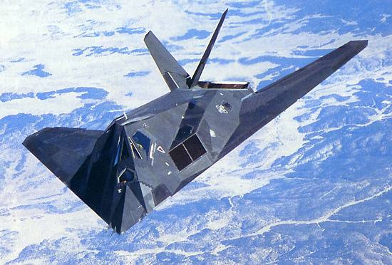 F-117 Nighthawk 1st Stealth Fighter Aircraft