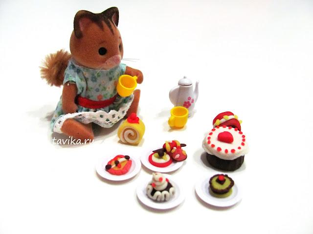 пирожные из соленого теста своими руками
