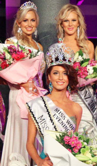 Miss World New Zealand 2012 winner Collette Lochore