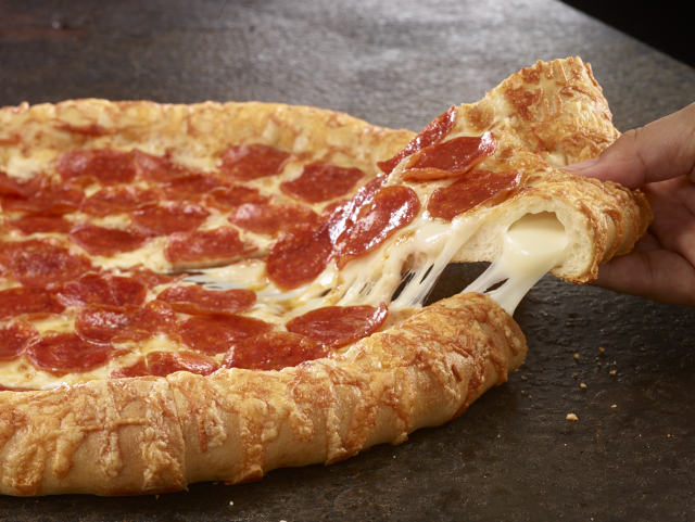 Cheese Stuffed Crust Pizza