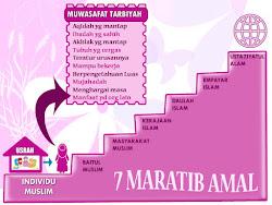 ♥ 7 Maratib Amal