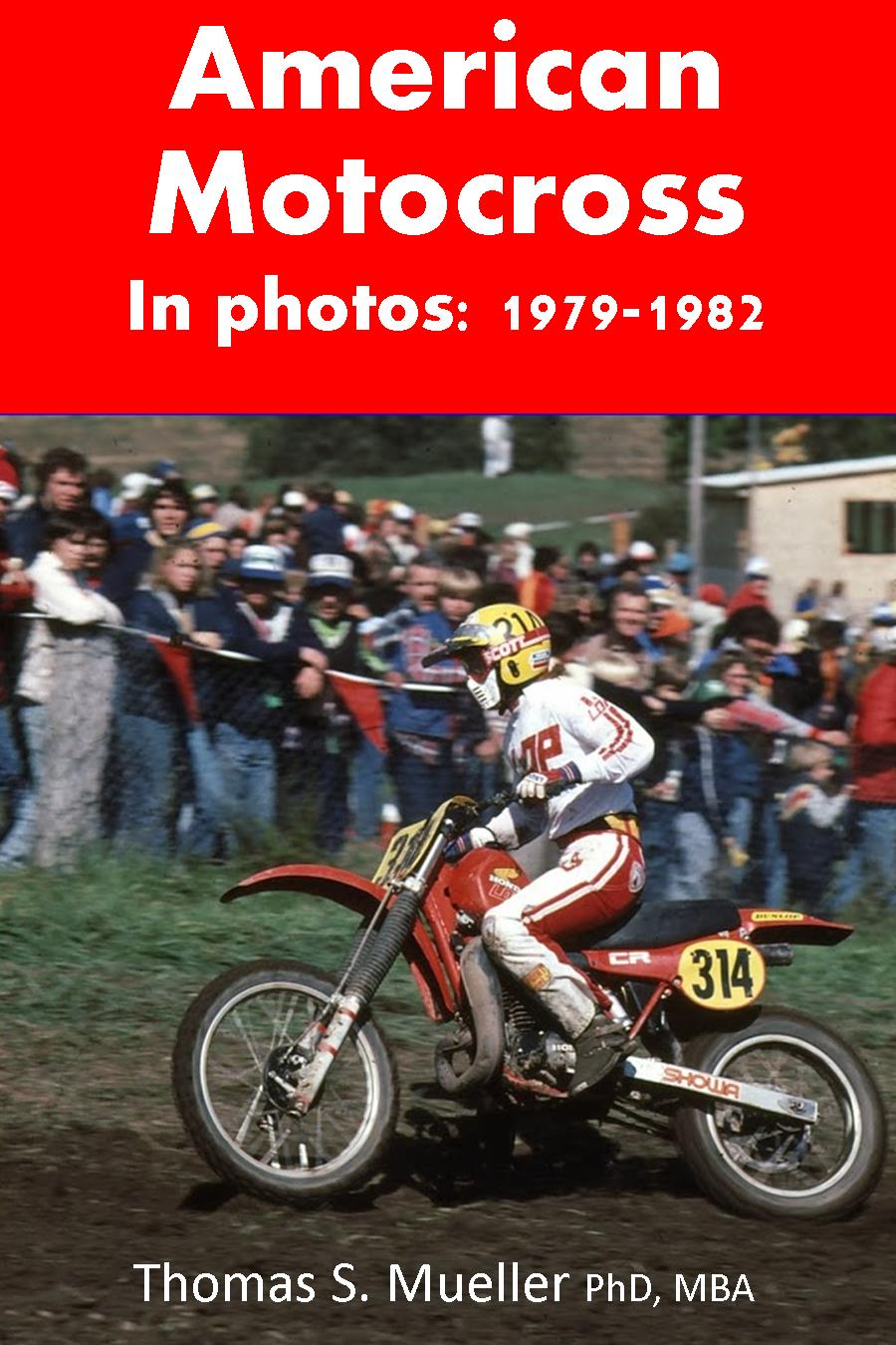 """American Motocross in Photos"" on Amazon"