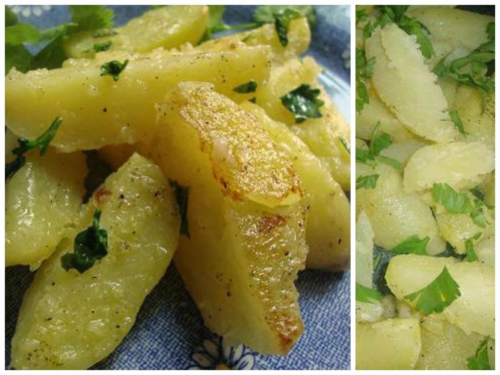 Patatas al cilantro