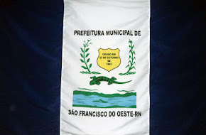 BANDEIRA DE SÃO FRANCISCO DO OESTE/RN.