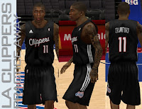 NBA 2K13 L.A. Clippers Away Practice Jersey