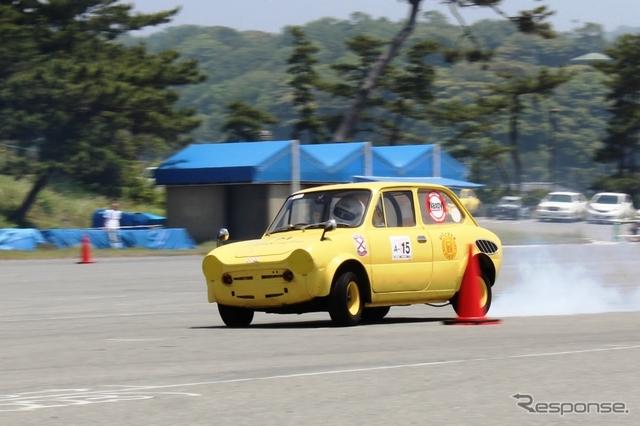 Suzuki Fronte 360, małe sportowe samochody, japońska motoryzacja, JDM, klasyki, レース、自動車競技、軽自動車、スポーツカー、クラシックカー