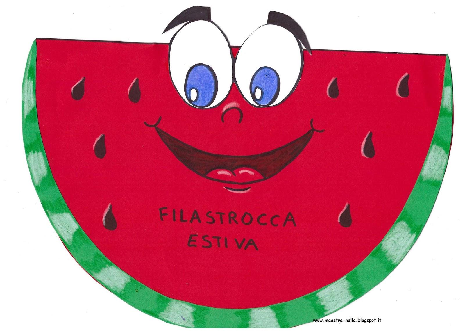 Maestra nella libricino filastrocca estiva for Lavoretti estate scuola dell infanzia